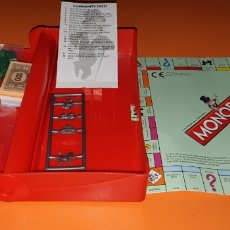 Juegos de mesa: MONOPOLY DE VIAJE EN INGLES. Lote 258141380
