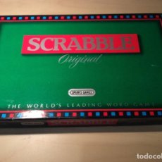 Juegos de mesa: SCRABBLE ORIGINAL VERSION INGLESA SPEAR'S GAME 1988. SIN USO. BOLSA DE FICHAS SIN ABRIR.. Lote 258966790