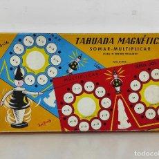 Juegos de mesa: CURIOSO JUEGO - TABUADA MAGNÉTICA, MAJORA - SOMAR - MULTIPLICAR - PORTUGAL. Lote 259815535