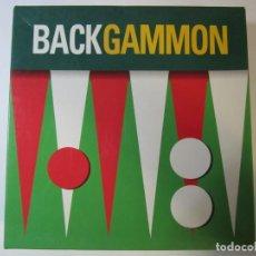 Juegos de mesa: JUEGO DE MESA BACKGAMMON. Lote 260353580
