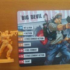 Juegos de mesa: ZOMBICIDE 2ND EDITION - BIG DEVIL - KICKSTARTER EXCLUSIVE - FIGURA + TARJETA (CE). Lote 279501933