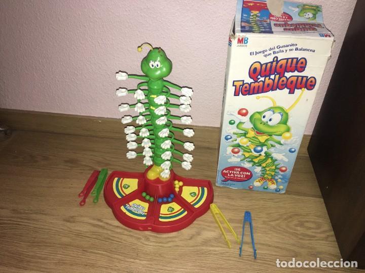 JUEGO QUIQUE TEMBLEQUE DE MB (Juguetes - Juegos - Juegos de Mesa)
