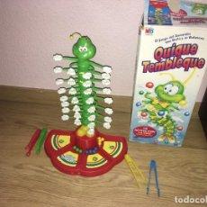 Juegos de mesa: JUEGO QUIQUE TEMBLEQUE DE MB. Lote 260754475