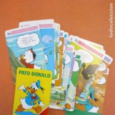 Giochi da tavolo: JUEGO DE CARTAS INFANTIL. MUY DIVERTIDO. PATO DONALD.. Lote 261788045