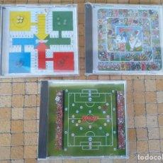 Juegos de mesa: LOTE 3 JUEGOS MAGNETICOS PORTATILES DE VIAJE. JUEGA CON SPORT. FUTBOL, PARCHIS Y LA OCA. Lote 261862085