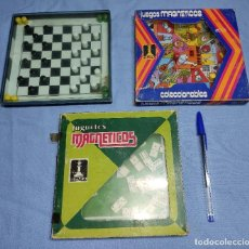 Juegos de mesa: LOTE DE 3 JUEGOS MAGNETICOS DE RIMA. Lote 261925360