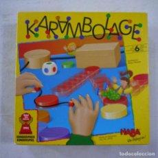 Juegos de mesa: KARAMBOLAGE - HABA REF. 4378. Lote 262298830