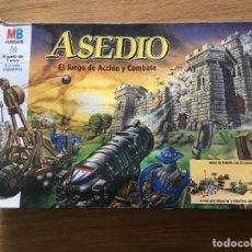 Juegos de mesa: JUEGO DE MESA ASEDIO DE MB. Lote 262600730