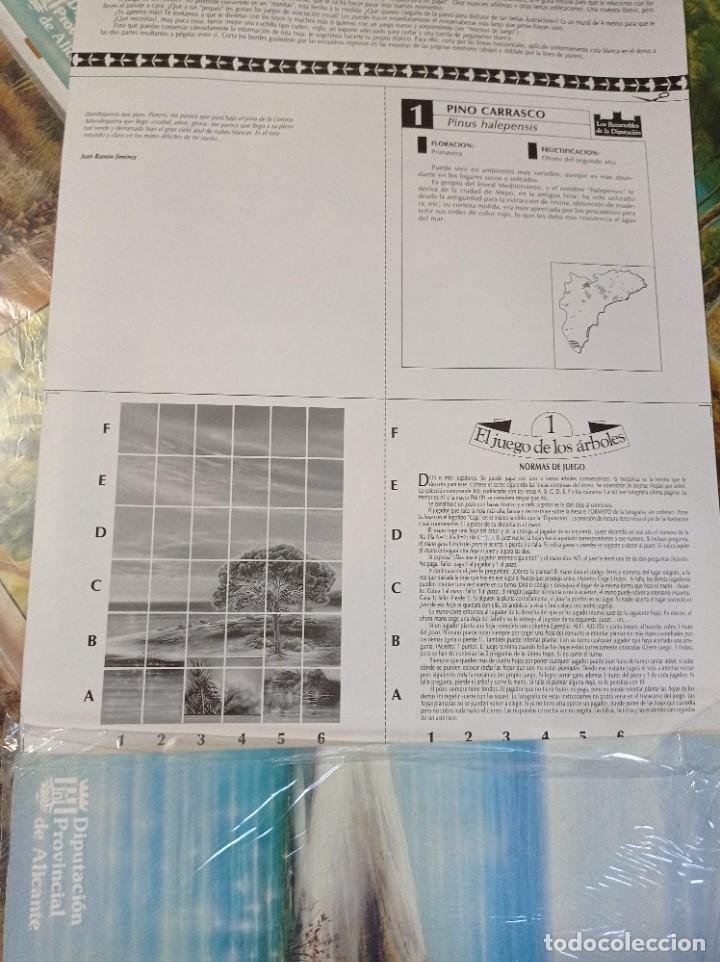 Juegos de mesa: JUEGO DE MESA CON 360 FICHAS DE ARBOLES DE LA DIPUTACION DE ALICANTE COMPLETO - Foto 3 - 262651755