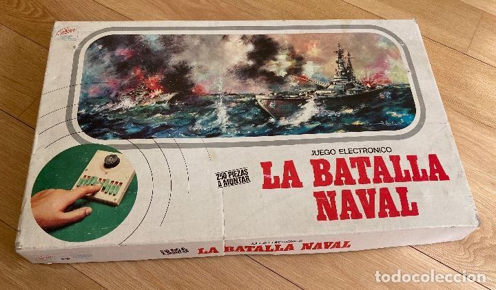 LA BATALLA NAVAL, JUEGO ELECTRÓNICO DE GRAINES-ESPAÑA. (Juguetes - Juegos - Juegos de Mesa)