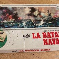 Juegos de mesa: LA BATALLA NAVAL, JUEGO ELECTRÓNICO DE GRAINES-ESPAÑA.. Lote 262920800