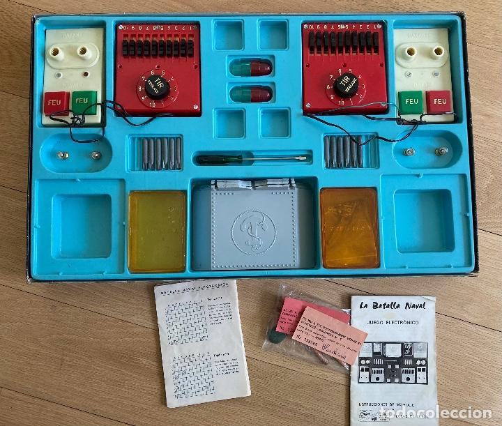 Juegos de mesa: LA BATALLA NAVAL, juego electrónico de GRAINES-España. - Foto 2 - 262920800