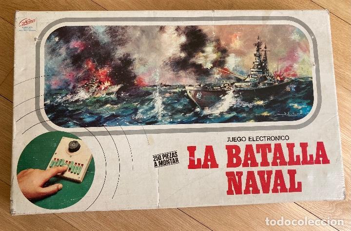 Juegos de mesa: LA BATALLA NAVAL, juego electrónico de GRAINES-España. - Foto 3 - 262920800