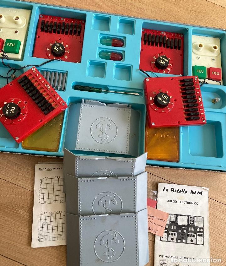Juegos de mesa: LA BATALLA NAVAL, juego electrónico de GRAINES-España. - Foto 4 - 262920800