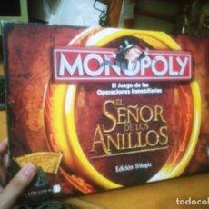 Juegos de mesa: MONOPOLY EL SEÑOR DE LOS ANILLOS. EDICIÓN TRILOGÍA. HASBRO 2003. Lote 264063640