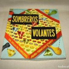 Juegos de mesa: ANTIGUO JUEGO DE MESA SOMBREROS VOLANTES JUEGO DE HABILIDAD DE CEFA -AÑO 1960-70S.. Lote 264242892
