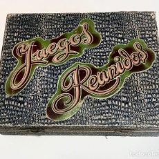 Juegos de mesa: NUEVO LISTING. ANTIGUO, UNICO Y COMPLETO: JUEGOS REUNIDOS 1930'S.. Lote 264342544