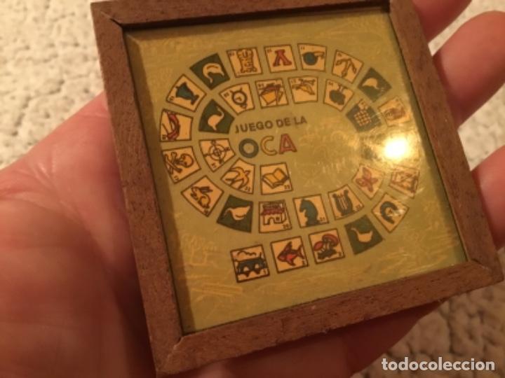 Juegos de mesa: JUEGO DE LA OCA EN super MINIATURA - Foto 2 - 264482584