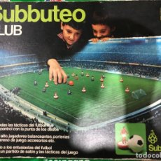 Jeux de table: SUBBUTEO CLUB REF. S-140 FC BARCELONA Y REAL MADRID. Lote 264723709