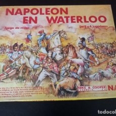 Juegos de mesa: WARGAME NAC NAPOLEÓN EN WATERLOO. Lote 265187279