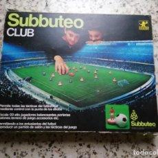 Jeux de table: SUBBUTEO CLUB, S-140, BORRÁS (INCOMPLETO). Lote 265906693