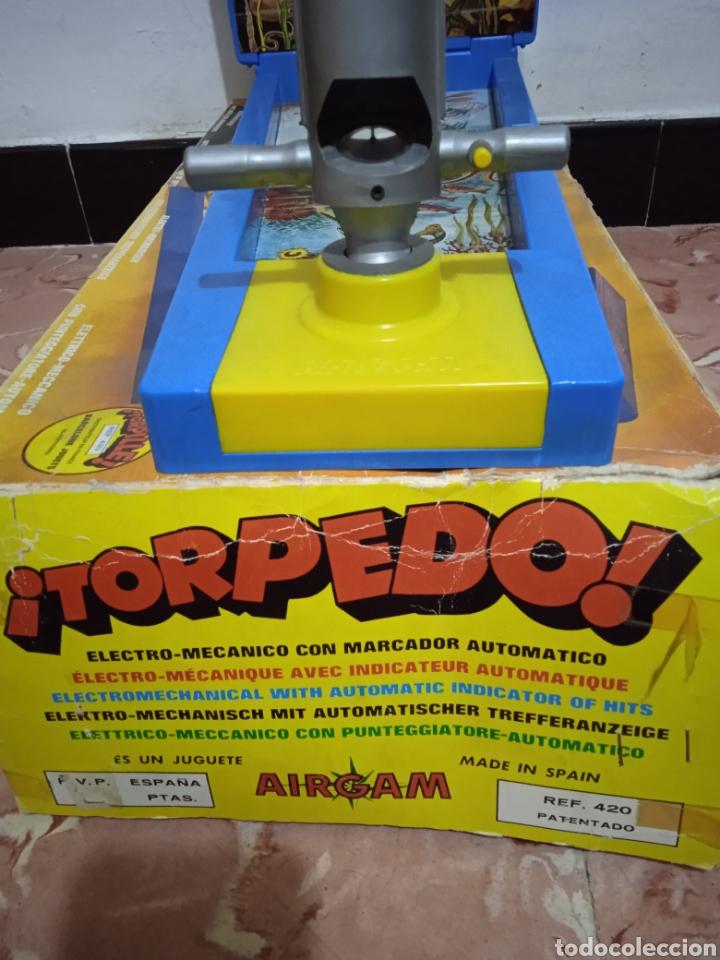 Juegos de mesa: Juego de mesa torpedo airmag años 70 - Foto 3 - 266327258