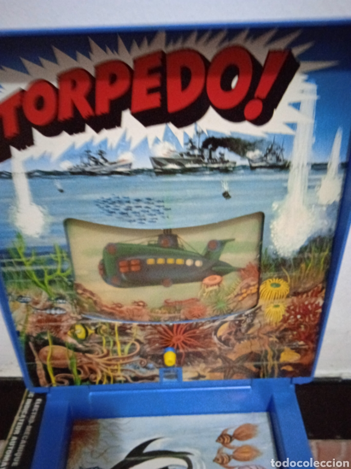 Juegos de mesa: Juego de mesa torpedo airmag años 70 - Foto 4 - 266327258