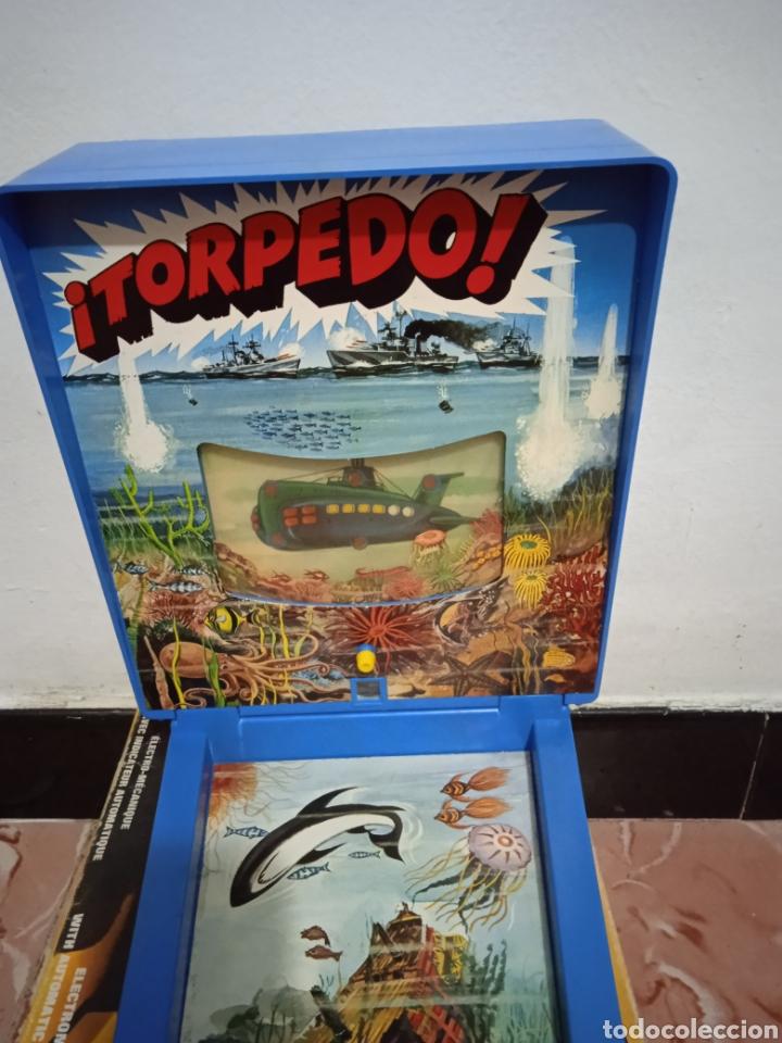 Juegos de mesa: Juego de mesa torpedo airmag años 70 - Foto 5 - 266327258