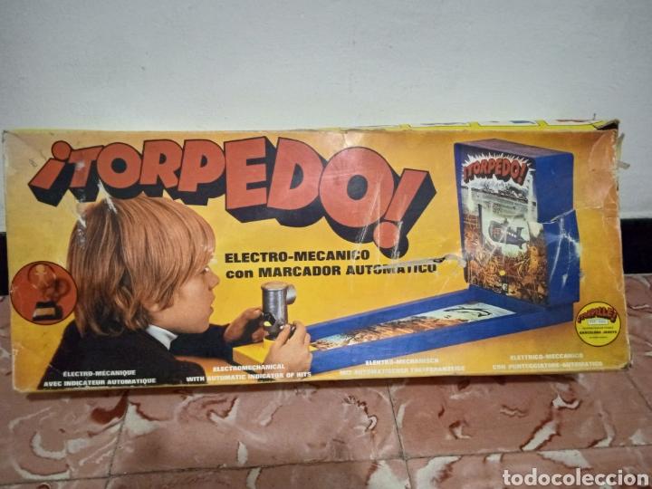 Juegos de mesa: Juego de mesa torpedo airmag años 70 - Foto 13 - 266327258