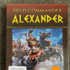 Juegos de mesa: FIELD COMMANDER ALEXANDER. Lote 266331173