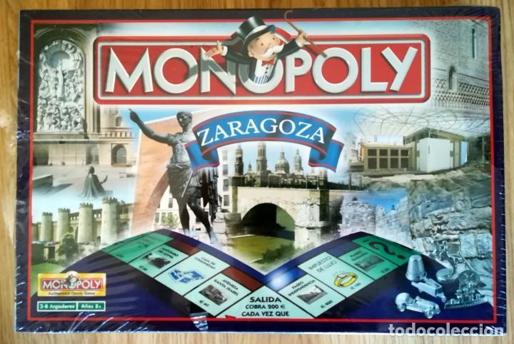 MONOPOLY PRECINTADO EDICION DE ZARAGOZA 2005 FABRICADO EN IRLANDA DESCATALOGADO (Juguetes - Juegos - Juegos de Mesa)