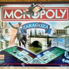 Juegos de mesa: MONOPOLY PRECINTADO EDICION DE ZARAGOZA 2005 FABRICADO EN IRLANDA DESCATALOGADO. Lote 266377103