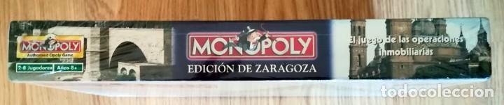 Juegos de mesa: MONOPOLY PRECINTADO EDICION DE ZARAGOZA 2005 FABRICADO EN IRLANDA DESCATALOGADO - Foto 2 - 266377103