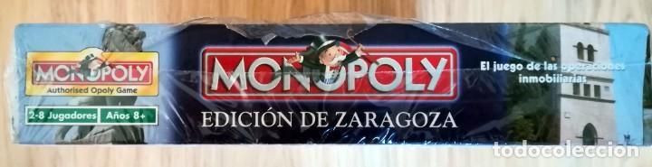 Juegos de mesa: MONOPOLY PRECINTADO EDICION DE ZARAGOZA 2005 FABRICADO EN IRLANDA DESCATALOGADO - Foto 3 - 266377103