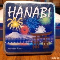 Juegos de mesa: HANABI ( ANTOINE BAUZA ) JUEGO DE MESA , EN CAJA DE HOJALATA. Lote 266386058
