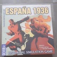 Giochi da tavolo: ESPAÑA 1936 LA GUERRA CIVIL JUEGO DE MESA SIMULACIÓN HISTÓRICA EN INGLES DEVIR. Lote 267315179