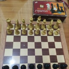Juegos de mesa: AJEDREZ STAWTON.. Lote 267485209