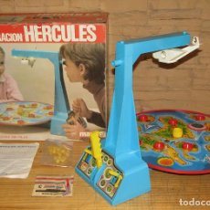 Juegos de mesa: OPERACION HERCULES, DE MAKO - NUEVO A ESTRENAR - FUNCIONANDO - EN SU CAJA ORIGINAL - 1982. Lote 267632854