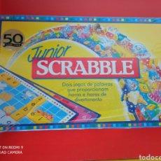Juegos de mesa: SCRABBLE JUNIOR EN PORTUGUÉS.MATTEL 90S.NUEVO EN CAJA SIN ABRIR.. Lote 267664139