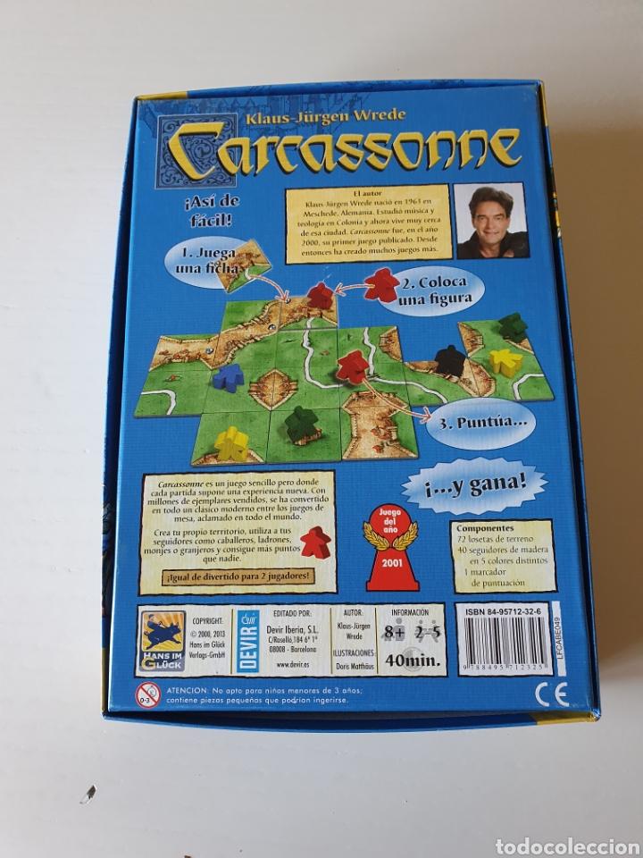 Juegos de mesa: Juego De mesa CARCASSONE - Foto 2 - 267825149