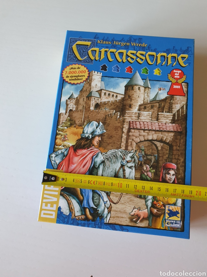 Juegos de mesa: Juego De mesa CARCASSONE - Foto 3 - 267825149