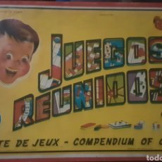 Juegos de mesa: ANTIGUO JUEGO, JUEGOS REUNIDOS GEYPER NÚMERO 15. Lote 268459074