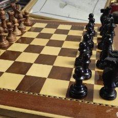 Juegos de mesa: AJEDREZ ESCARDIBUL. STAWTON NÚMERO 6. COMPLETO TABLERO Y FICHAS. Lote 268745269
