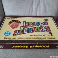Juegos de mesa: JUEGOS REUNIDOS GEYPER. Lote 268821374