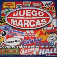 Juegos de mesa: EL JUEGO DE LAS MARCAS - DISET ¡COMPLETO!. Lote 268956964