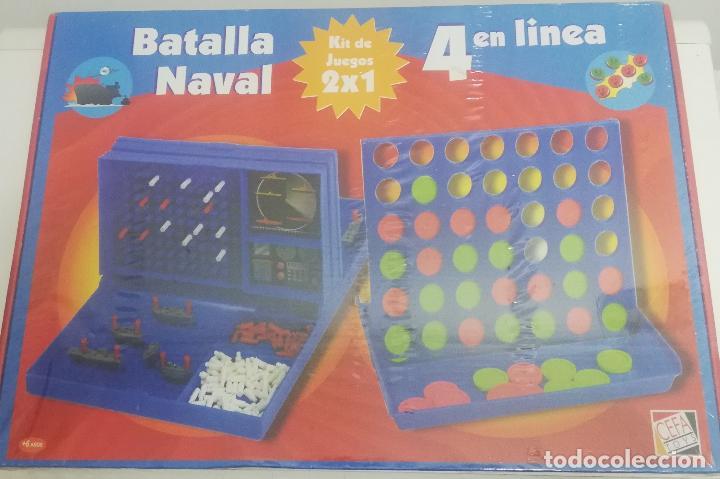 BATALLA NAVAL + 4 EN LINEA - CEFA TOYS - KIT DE 2 JUEGOS (Juguetes - Juegos - Juegos de Mesa)