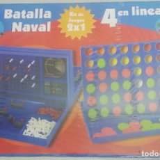 Juegos de mesa: BATALLA NAVAL + 4 EN LINEA - CEFA TOYS - KIT DE 2 JUEGOS. Lote 269000899