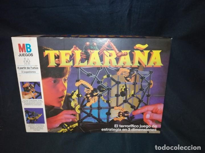 TELARAÑA. 1989. JUEGO DE MESA. MB JUEGOS. (Juguetes - Juegos - Juegos de Mesa)
