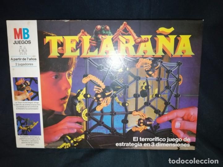 Juegos de mesa: TELARAÑA. 1989. JUEGO DE MESA. MB JUEGOS. - Foto 2 - 269003359