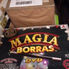 Juegos de mesa: CAJA ORIGINAL EL 75 ANIV DE MAGIA BORRAS.INCOMPLETA ,CON DVD.. Lote 269013759